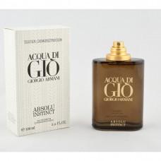 Parfum Tester de barbati Giorgio Armani Acqua di Giò Absolu Instinct 100 ml Apa de Parfum