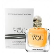 Parfum Tester de femei Giorgio Armani Because It's You 100 ml Apa de Parfum