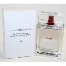 Parfum tester Dolce Gabbana The One Sport 100ml